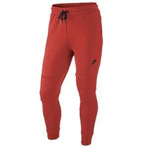 Nike Tech Fleece Men's Pants S Red Infrared